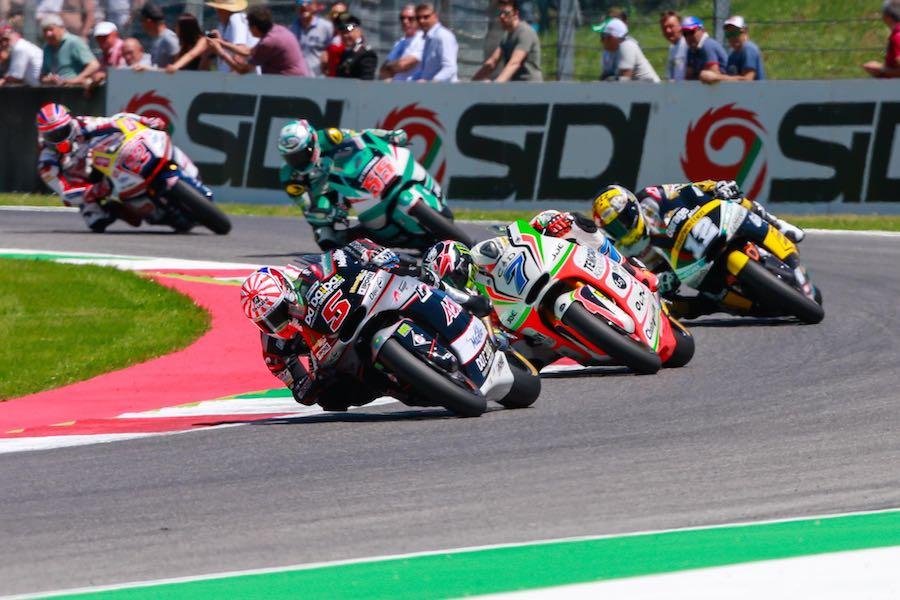 Lowes and Baldassarri lead Mugello Moto2 grid