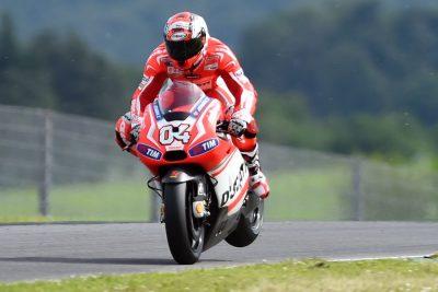 Ducati's Andrea Dovizioso heads to Mugello MotoGP