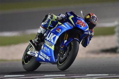 Suzuki's Maverick Vinales races into Mugello