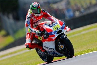 Ducati's Andrea Iannone third at Mugello MotoGP 2016