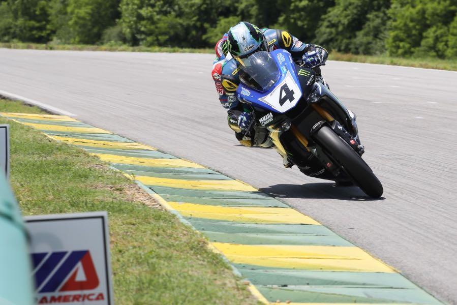 2016 VIR MotoAmerica Superbike Results Yamaha's Josh Hayes