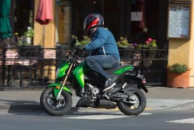 2017 Kawasaki Z125 Pro for sale