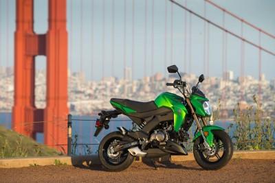 2017 Kawasaki Z125 Pro vs grom
