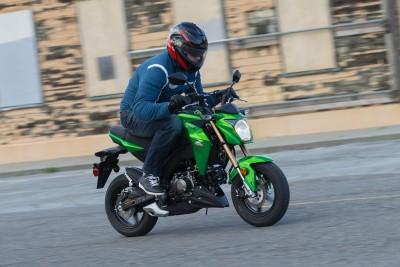 2017 Kawasaki Z125 Pro top speed