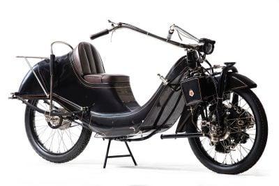 1927 Megola 640 Touring front