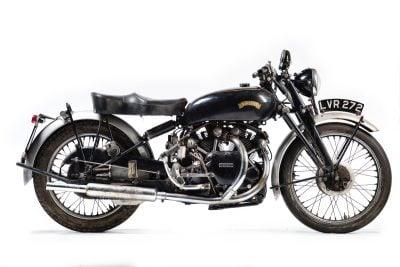 1951 Vincent Series C Black Shadow left