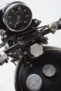 1951 Vincent Series C Black Shadow dashboard