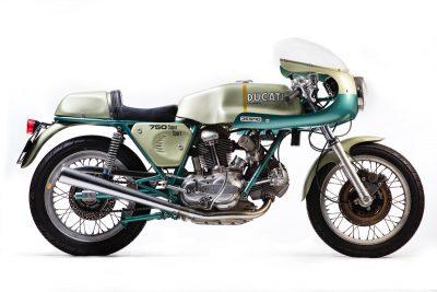 1974 Ducati 750 SS right