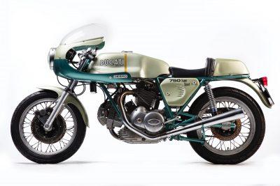 1974 Ducati 750 SS left