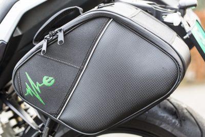 Energica Eva saddlebags