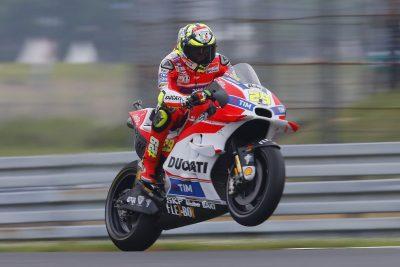 Ducati Andrea Iannone leads Assen MotoGP Free Practice