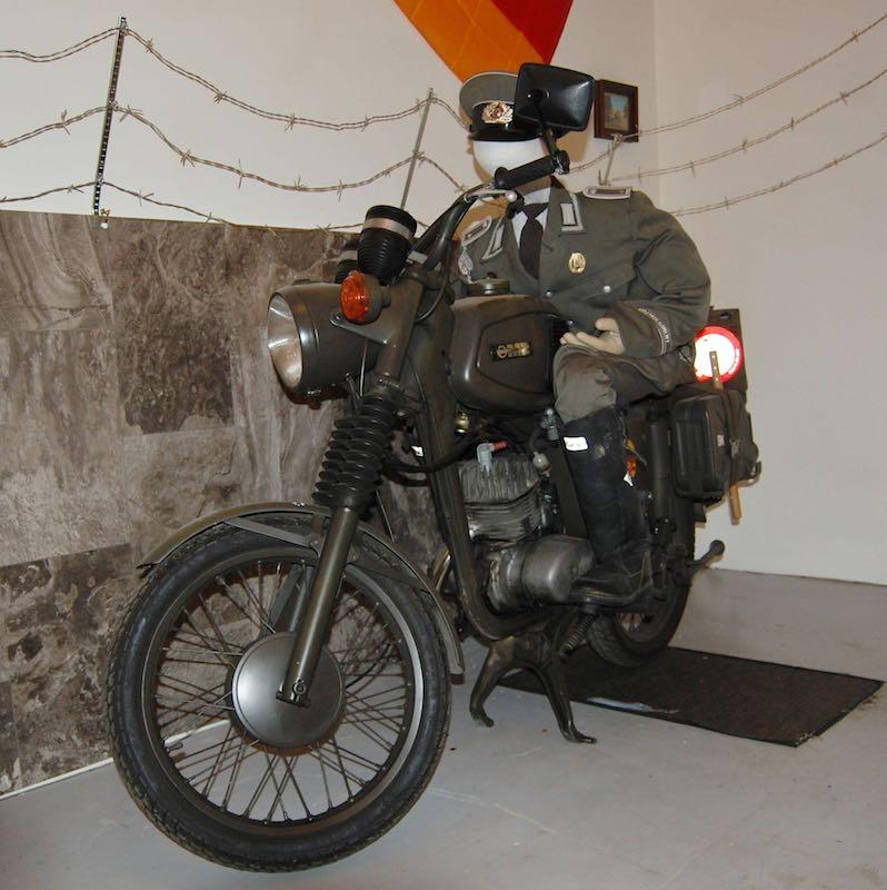Vintage Cycle Room 1980 MZ East German Berlin Wall Bike