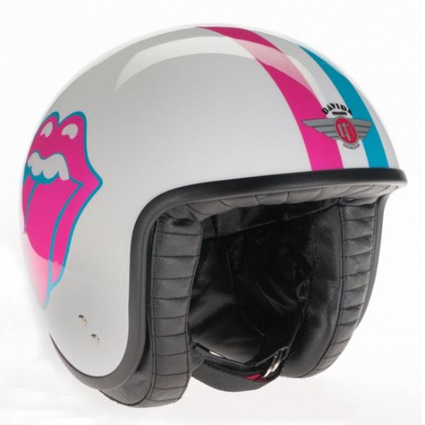 Davida Rolling Stones Helmet