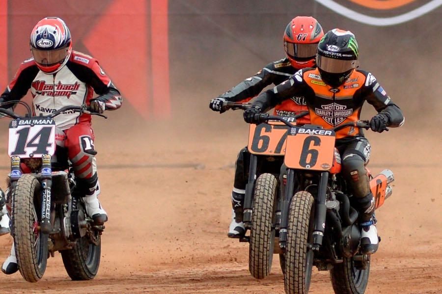 Harley-Davidson 1-2-3 at 2016 Austin X Games Flat Track