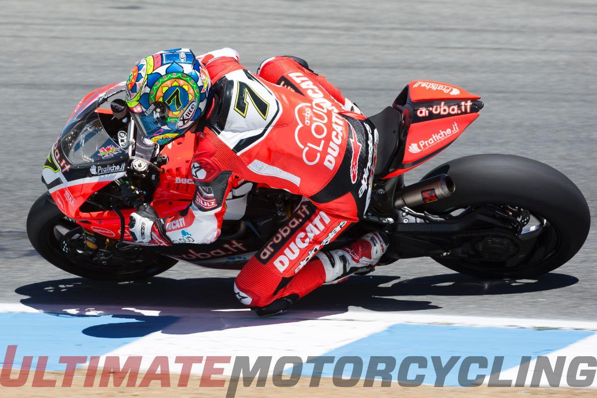 Ducati's Chaz Davies SBK Interview | Talks USA & Grass Roots Racing