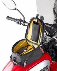 GIVI Metro-T Tank Bag on Ducati Scrambler