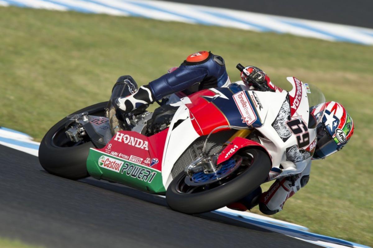 Honda's Hayden Heads Home for World Superbike Laguna Seca