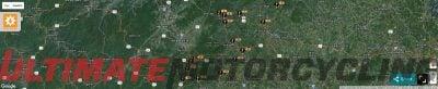 SPOT GPS satellite map
