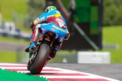 Franco Morbidelli at Austria Moto2
