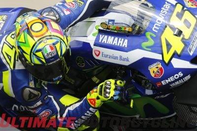 Yamaha Valentino Rossi at Austria MotoGP 2016