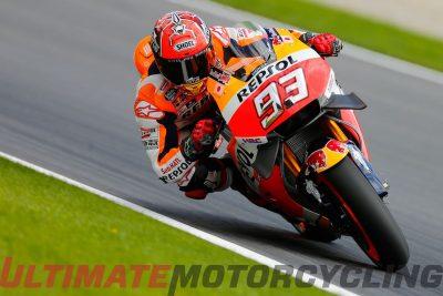 Honda's Marc Marquz 2016 Austria MotoGP