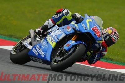 Suzuki's Maverick Vinales at Austria MotoGP 2016