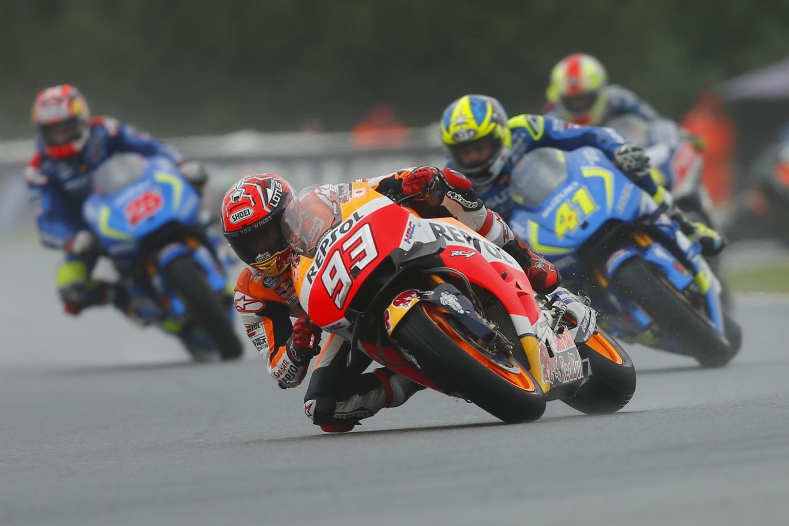 2016 Brno MotoGP Results Honda's Marc Marquez