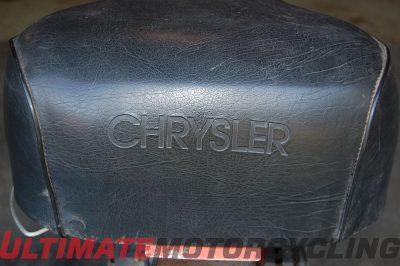 Chrysler Sno-Runner seat