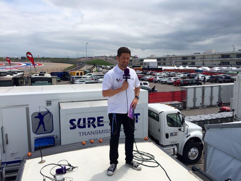 Miguel Serrano MotoGP beIN Sports