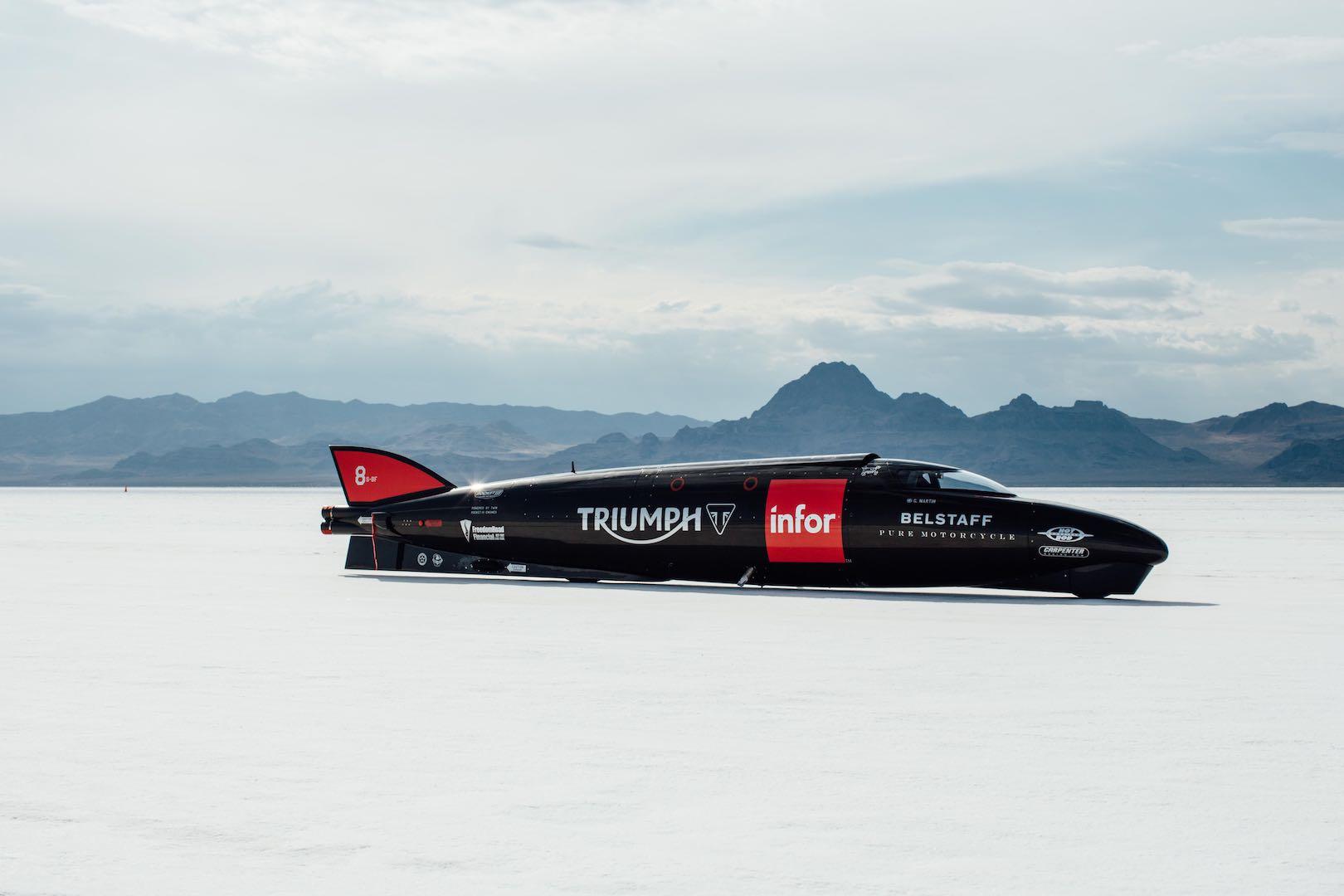 Bonneville: Can Guy Martin Achieve Land Speed Record Aboard Triumph?
