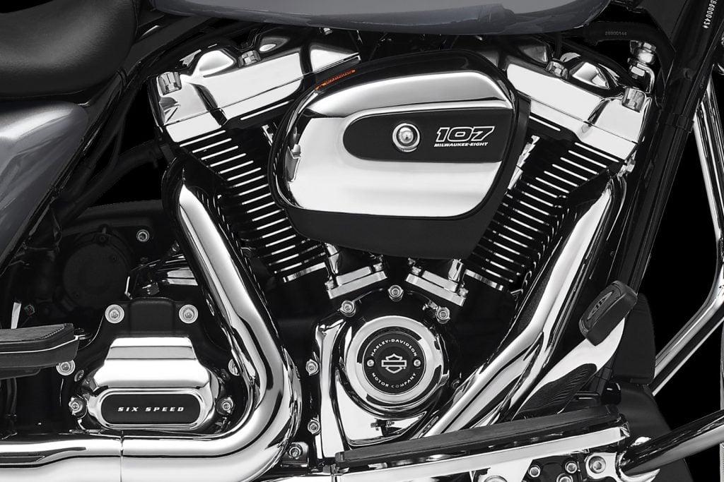 2017 Harley-Davidson Milwaukee-Eight Motor - profile