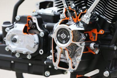 2017 Harley-Davidson Milwaukee-Eight Motor - cutaway bottom end