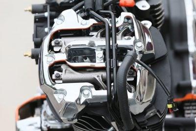 2017 Harley-Davidson Milwaukee-Eight Motor - cutaway top end