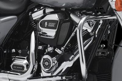 2017 Harley-Davidson Milwaukee-Eight Motor - Front angle in bike
