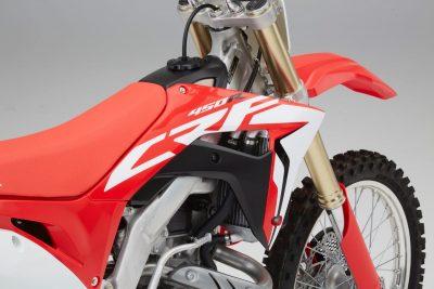 2017 Honda CRF450R - new graphics