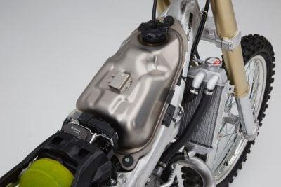 2017 Honda CRF450R titanium fuel tank