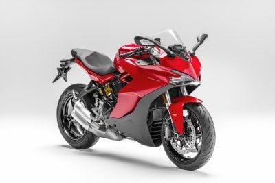 2017 Ducati SuperSport profile red