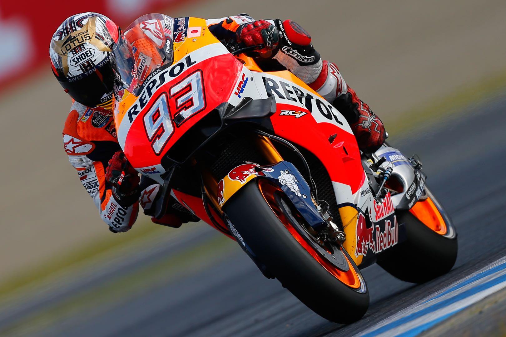Marc Marquez Clinches 2016 MotoGP Title | Dominates Motegi