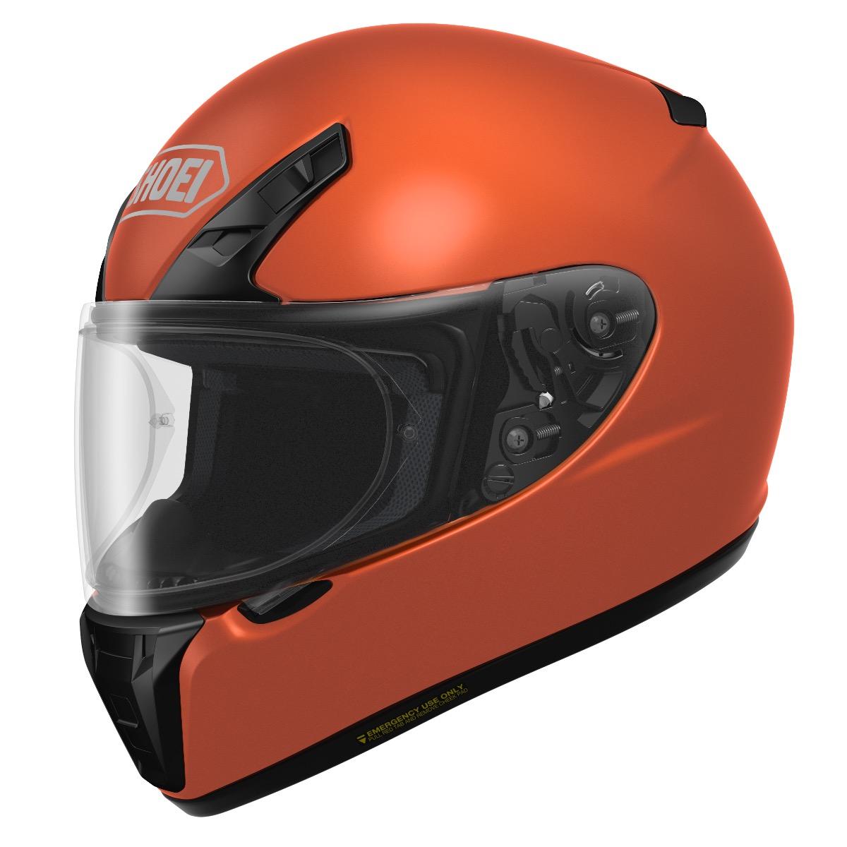 Shoei RF-SR First Look - Tangerine Orange
