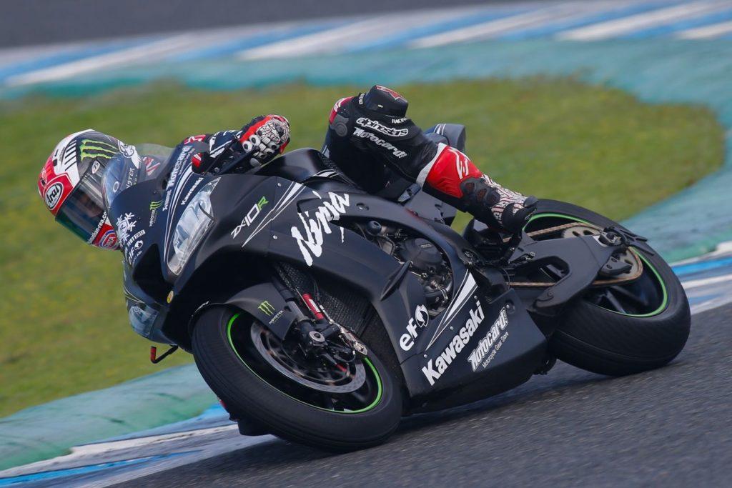 Kawasaki's Rea Tops MotoGP Field at Jerez Winter Superbike Tests