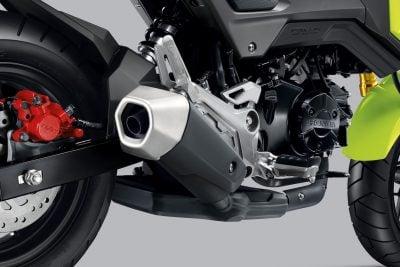 2017 Honda Grom exhaust