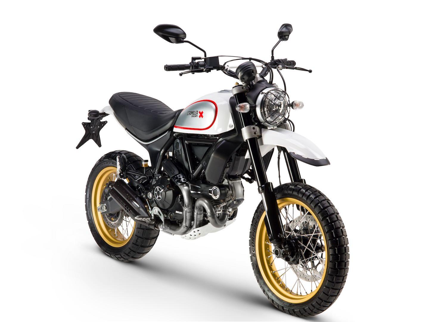 2017 Ducati Scrambler Desert Sled First Look | Fast Facts