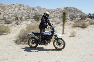 2017 Ducati Scrambler Desert Sled off road review