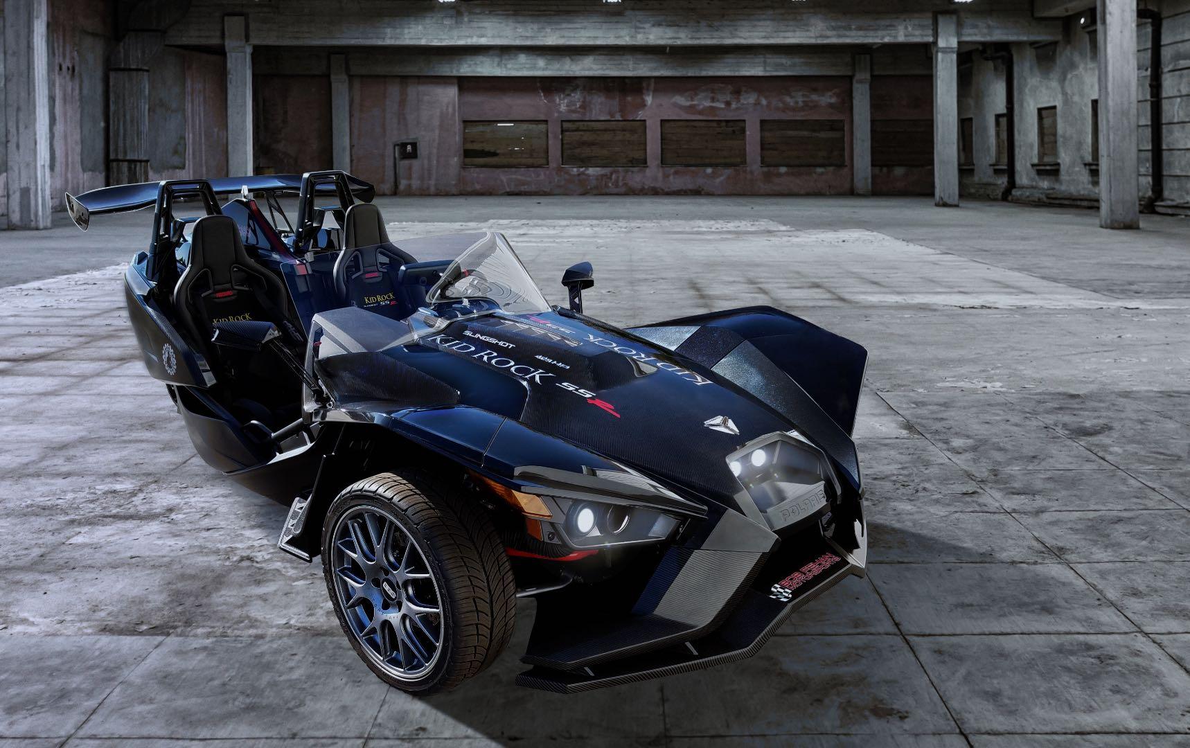 Turbocharged Kid Rock Concept Polaris Slingshot Rocks with 400 HP