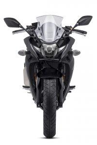 2018 Suzuki GSX250R Katana First Look - black front