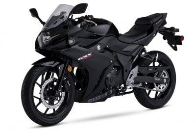2018 Suzuki GSX250R Katana First Look - left angle black