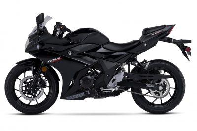 2018 Suzuki GSX250R Katana First Look - left black