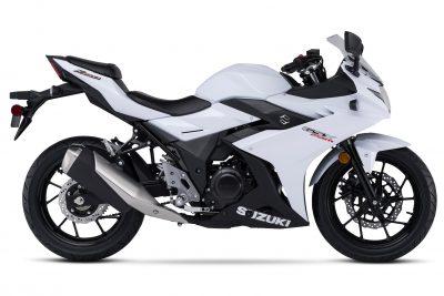 2018 Suzuki GSX250R Katana First Look - white side