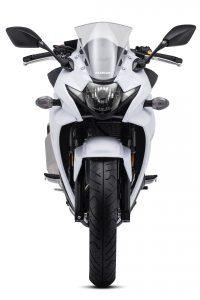 2018 Suzuki GSX250R Katana First Look - white front