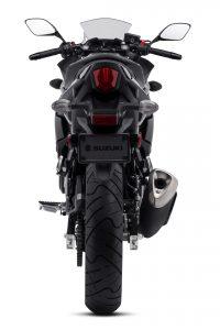 2018 Suzuki GSX250R Katana First Look - black rear